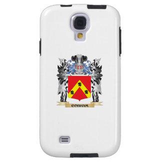 Escudo de armas de Cobham - escudo de la familia Funda Para Galaxy S4