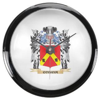 Escudo de armas de Cobham - escudo de la familia Relojes Aquavista