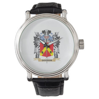 Escudo de armas de Cobham - escudo de la familia Relojes De Pulsera
