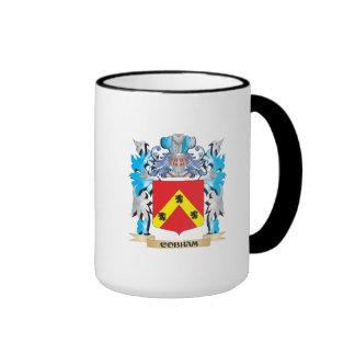Escudo de armas de Cobham - escudo de la familia Taza A Dos Colores