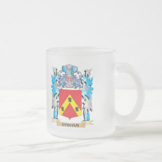 Escudo de armas de Cobham - escudo de la familia Taza Cristal Mate