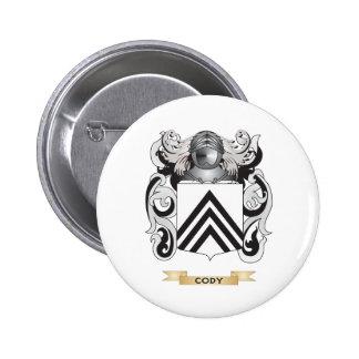 Escudo de armas de Cody Pin