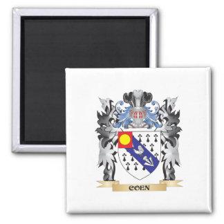 Escudo de armas de Coen - escudo de la familia Imán Cuadrado