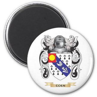 Escudo de armas de Coen Imán Redondo 5 Cm