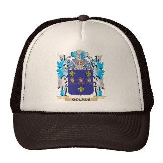 Escudo de armas de Colade - escudo de la familia Gorros Bordados