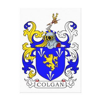 Escudo de armas de Colgan Impresiones En Lienzo Estiradas