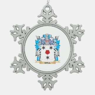 Escudo de armas de Coll - escudo de la familia