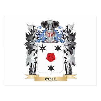 Escudo de armas de Coll - escudo de la familia Postal