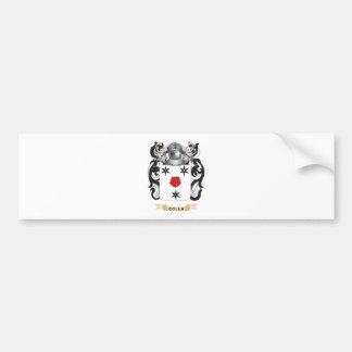 Escudo de armas de Colla Pegatina Para Auto