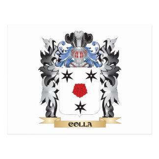 Escudo de armas de Colla - escudo de la familia Postal