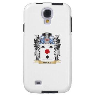 Escudo de armas de Colle - escudo de la familia Funda Para Galaxy S4
