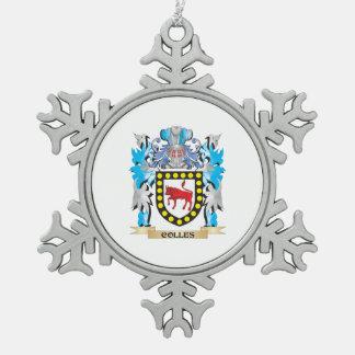 Escudo de armas de Colles - escudo de la familia