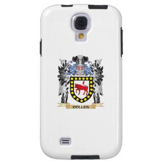 Escudo de armas de Colles - escudo de la familia Funda Para Galaxy S4