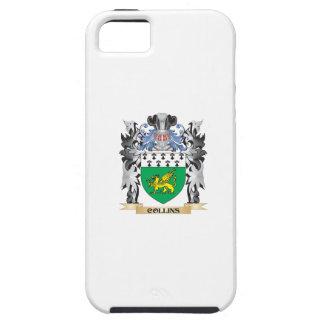 Escudo de armas de Collins - escudo de la familia iPhone 5 Carcasa
