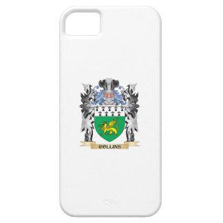 Escudo de armas de Collins - escudo de la familia iPhone 5 Funda