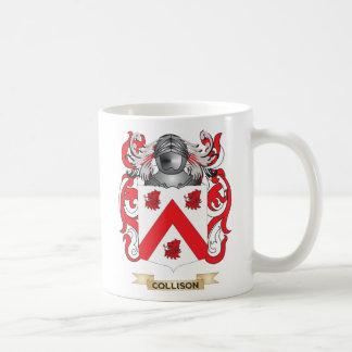 Escudo de armas de Collison Taza De Café