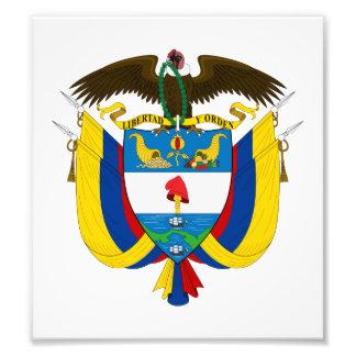 Escudo de armas de Colombia Cojinete