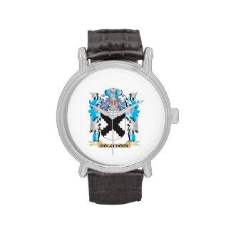 Escudo de armas de Colquhoun - escudo de la famili Reloj