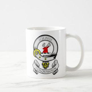 Escudo de armas de COLQUHOUN Taza De Café