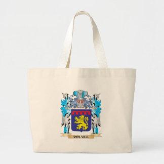 Escudo de armas de Colvill - escudo de la familia Bolsas De Mano