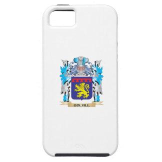 Escudo de armas de Colvill - escudo de la familia iPhone 5 Case-Mate Protector