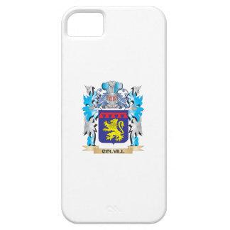 Escudo de armas de Colvill - escudo de la familia iPhone 5 Funda