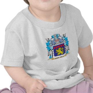 Escudo de armas de Colvill - escudo de la familia Camisetas