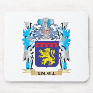 Escudo de armas de Colvill - escudo de la familia Alfombrilla De Ratón