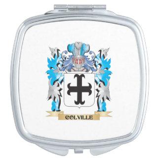 Escudo de armas de Colville - escudo de la familia Espejo De Maquillaje