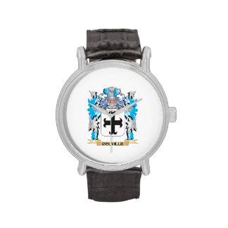 Escudo de armas de Colville - escudo de la familia Relojes De Mano