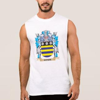 Escudo de armas de Conde - escudo de la familia Camiseta Sin Mangas