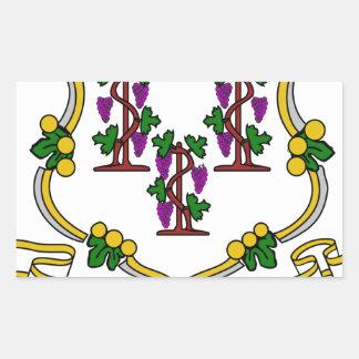 Escudo de armas de Connecticut Rectangular Altavoz