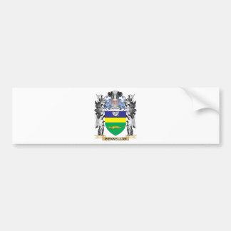 Escudo de armas de Connellan - escudo de la Pegatina Para Auto