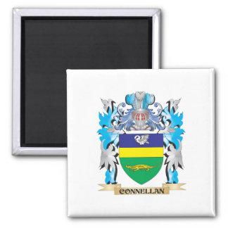 Escudo de armas de Connellan - escudo de la famili Iman Para Frigorífico