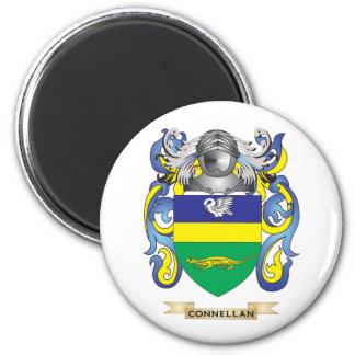 Escudo de armas de Connellan Imán De Frigorifico