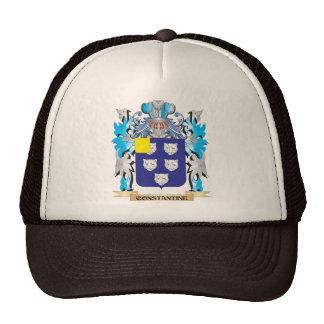 Escudo de armas de Constantina - escudo de la fami Gorras