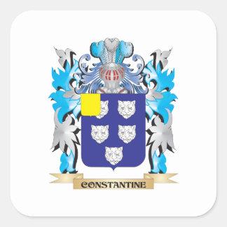 Escudo de armas de Constantina - escudo de la Pegatina Cuadrada