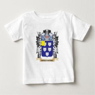 Escudo de armas de Constantina - escudo de la Playera Para Bebé
