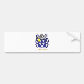 Escudo de armas de Constantino Pegatina Para Auto