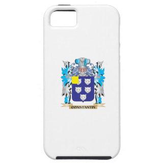 Escudo de armas de Constantino - escudo de la fami iPhone 5 Case-Mate Cárcasas