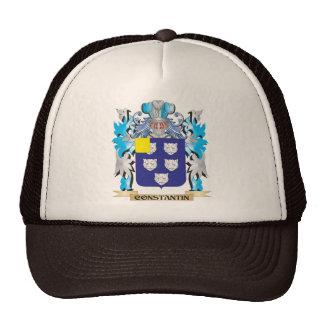 Escudo de armas de Constantino - escudo de la fami Gorras De Camionero