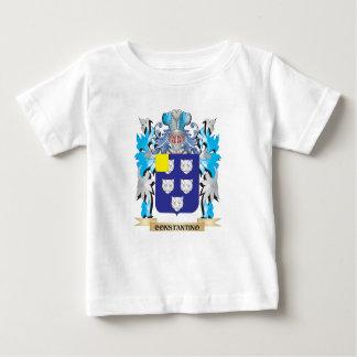 Escudo de armas de Constantino - escudo de la Playera Para Bebé