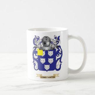 Escudo de armas de Constantino Tazas De Café