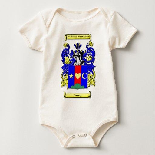 Escudo de armas de Convery Mamelucos De Bebé