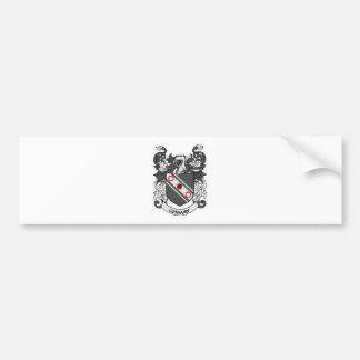 Escudo de armas de CONWAY Pegatina Para Auto