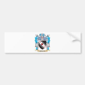 Escudo de armas de Conway - escudo de la familia Pegatina Para Auto