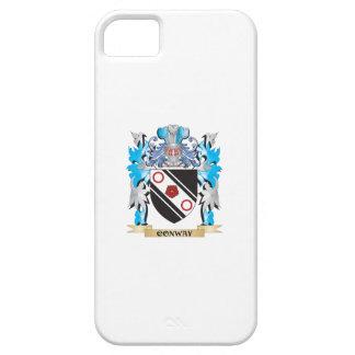 Escudo de armas de Conway - escudo de la familia iPhone 5 Protector