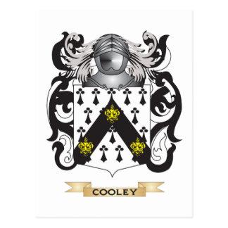 Escudo de armas de Cooley Tarjetas Postales