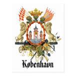 Escudo de armas de Copenhague Postal