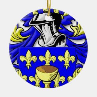 Escudo de armas de Coppola Adorno Redondo De Cerámica